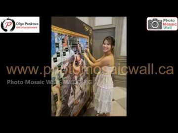 Photo Mosaic Wall - Wedding