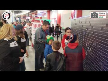 Photo Mosaic Wall Canada - Rocket Laval Home Opener